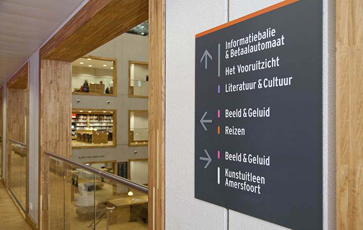 Signing Bibliotheek Eemland